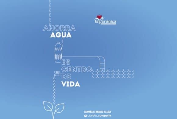 El Centro Comercial La Verónica activa la campaña 'Ahorra agua,  es centro de vida' promovida por Carrefour Property