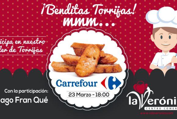 Evento Taller de Torrijas Semana Santa, Centro Comercial La Verónica