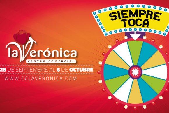 Siempre Toca, Ruleta fortuna premios Centro Comercial La Verónica