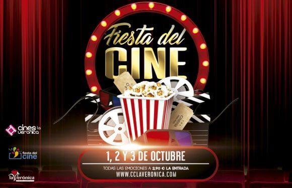 Vuelve la Fiesta del Cine: 1, 2 y 3 de octubre, entradas a 2,90 euros