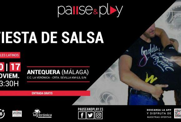 Fiesta Salsa en Pause And Play, Centro Comercial La Verónica