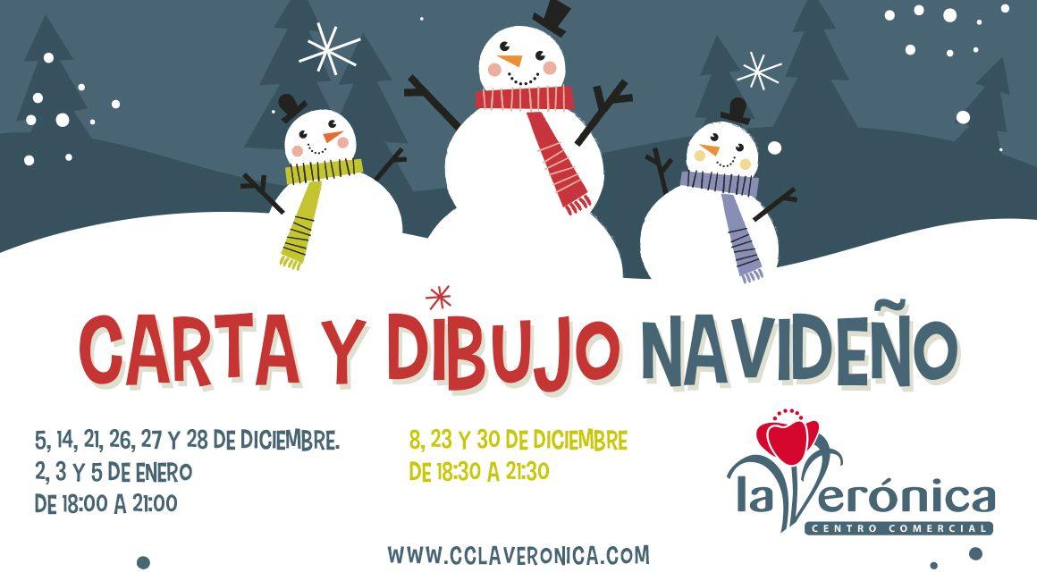 Carta y dibujo Navideño, Centro Comercial La Verónica Antequera