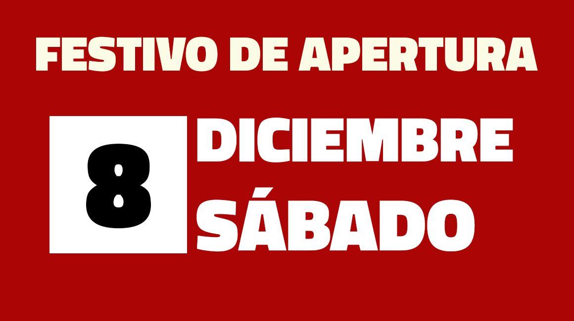 Festivo Apertura 8 Diciembre 2018, Centro Comercial La Verónica Antequera