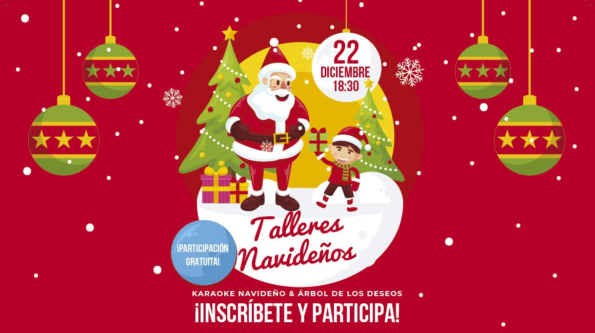 Talleres Navidad Centro Comercial La Verónica