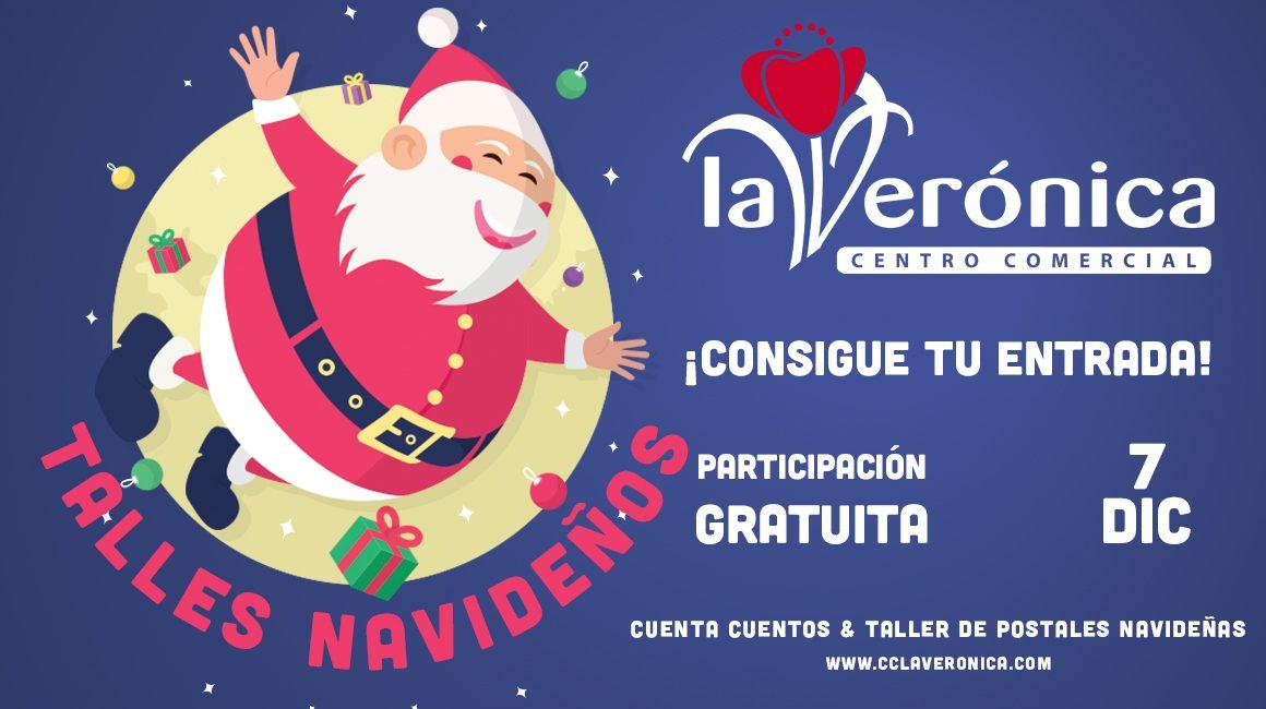 Cuenta Cuentos + Taller postales Navideñas, 7 Diciembre, Navidad, Centro Comercial La veronica