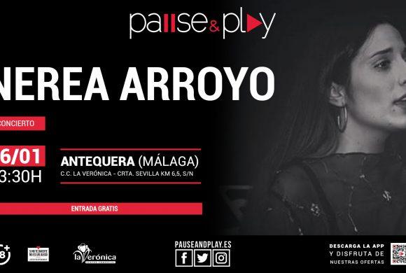 Concierto Nerea Arroyo, Pause And Play, Centro Comercial La Verónica