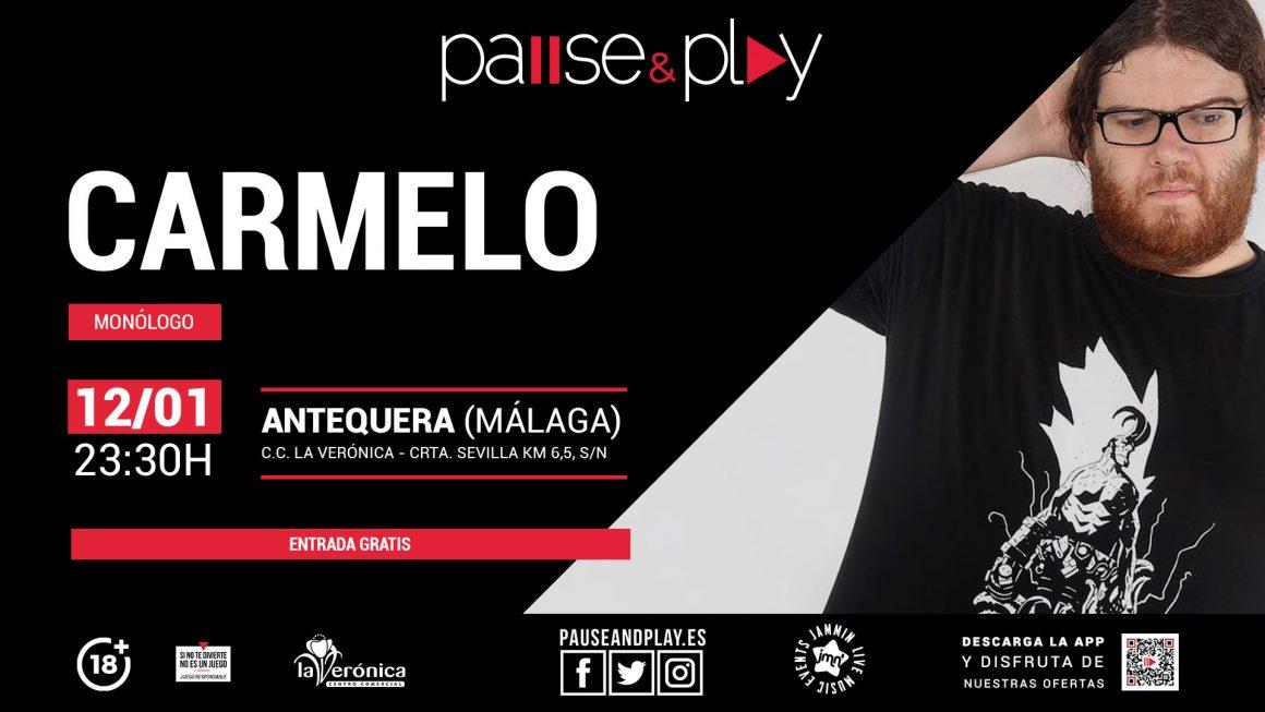 Monólogo Carmelo Pause And Play, Centro Comercial La Verónica