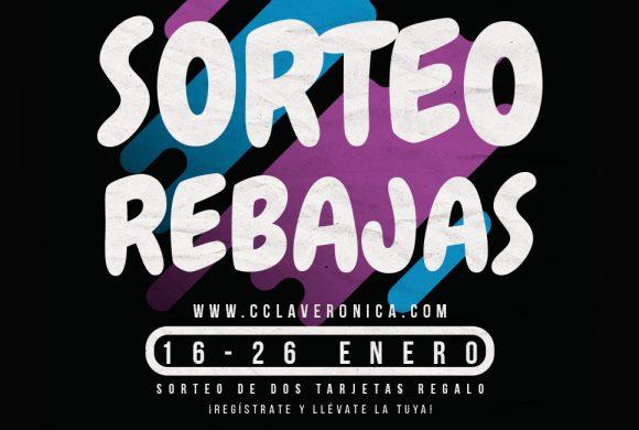 Sorteo Rebajas Enero, Centro Comercial La Verónica