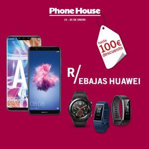 The Phone House: Días Huawei, hasta 100 € descuento