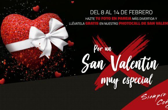 Photocall San Valentín, Centro Comercial La Verónica