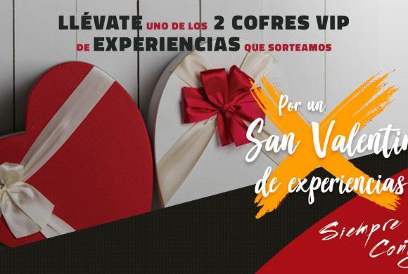 Sorteo Cofres VIP San Valentín, Centro Comercial La Verónica