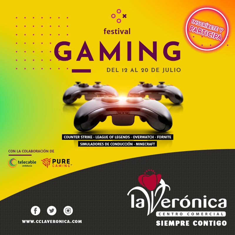 Festival Gaming, Centro Comercial La Verónica