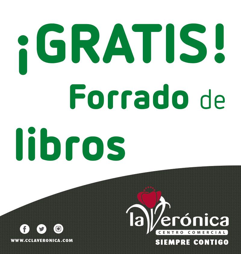 Vuelta al cole, forra tus libros gratis, Centro Comercial La Verónica