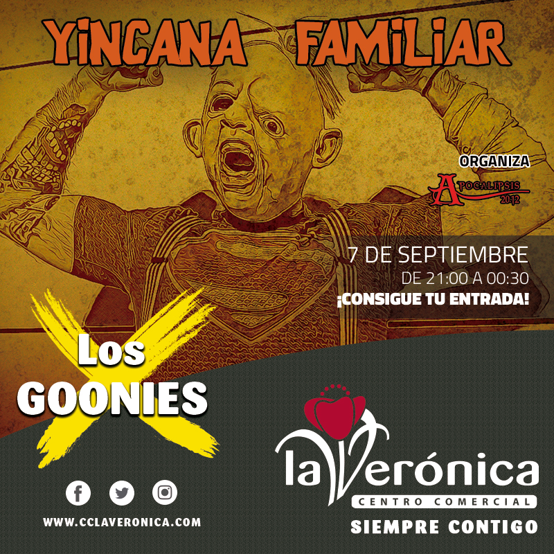 Yincana Familiar Los Goonies, Centro Comercial La Verónica