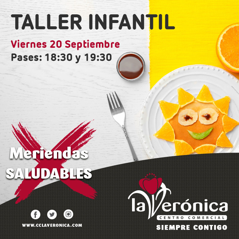Taller Alimentación Saludable, Centro Comercial La Verónica