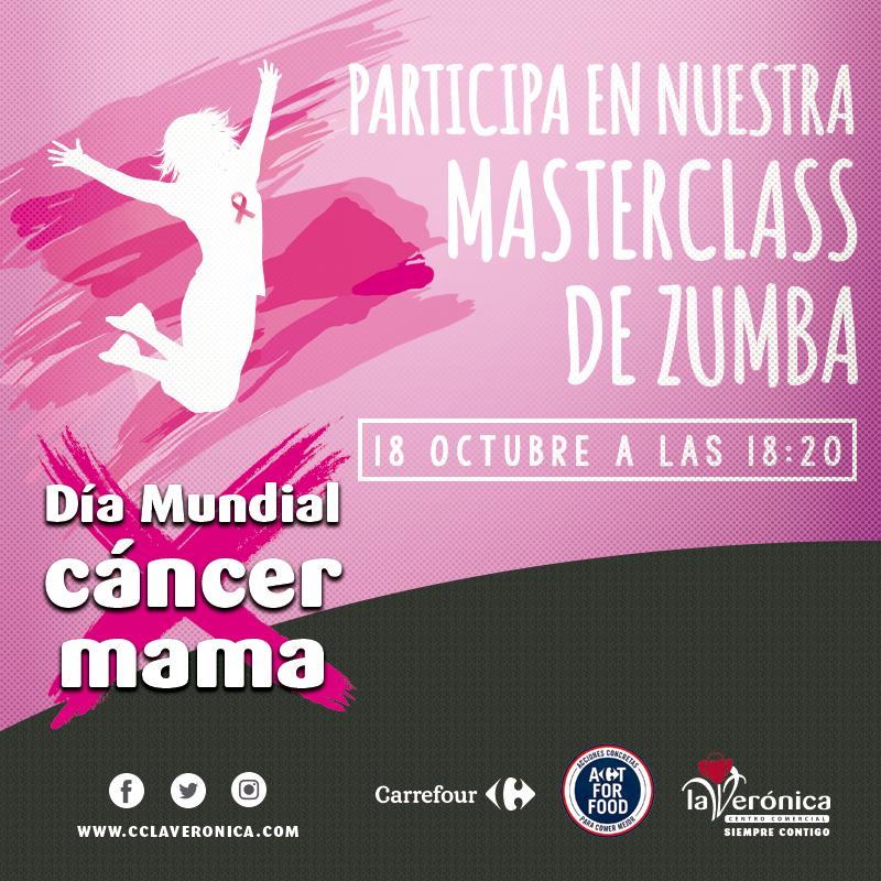 Día Mundial Cáncer Mama, Centro Comercial La Verónica