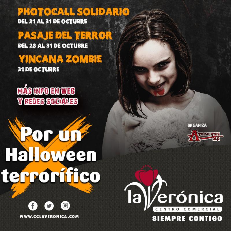 Halloween 2019 Antequera, Centro Comercial La Verónica