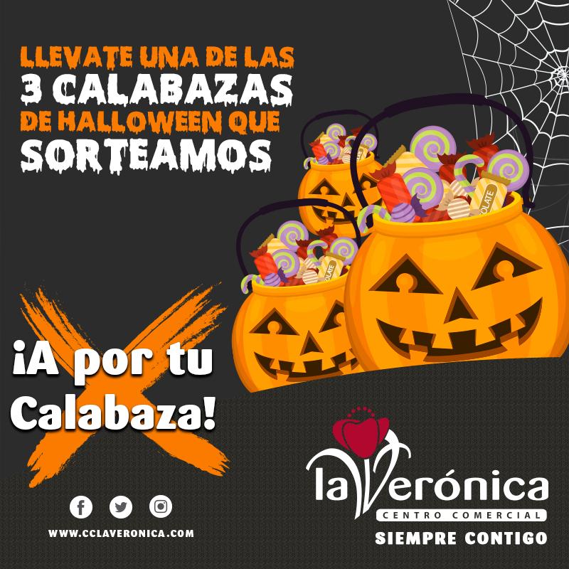 Sorteo Calabazas Halloween, Centro Comercial La Verónica
