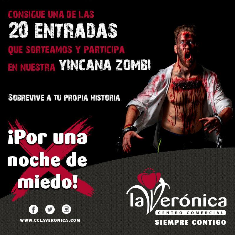 Yincana Zombie, Centro Comercial La Verónica
