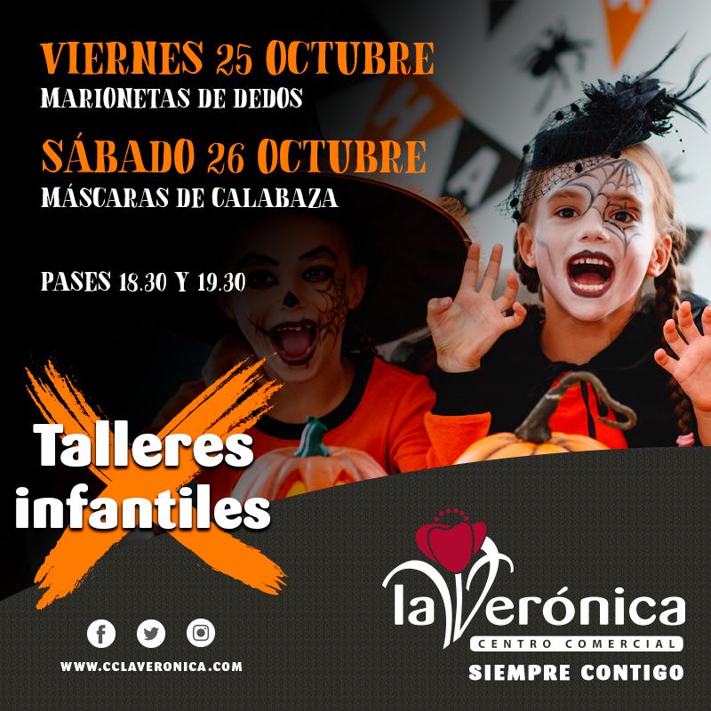 Talleres de Halloween, Centro Comercial La Verónica