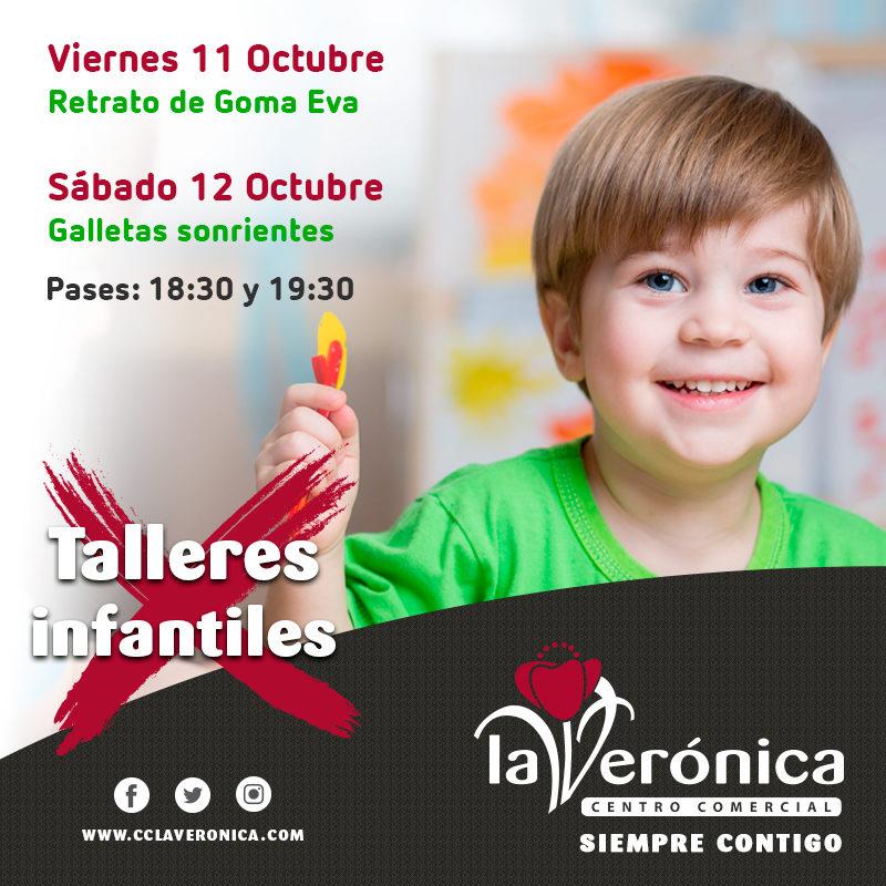 Talleres Infantiles 11 y 12 Octubre, Centro Comercial La Verónica