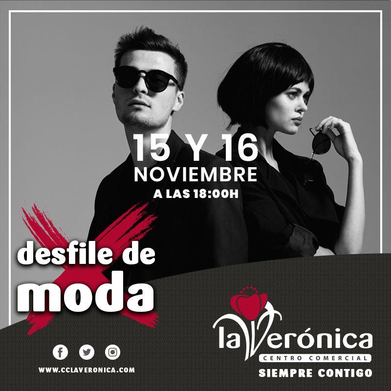 Desfile de Moda, Centro Comercial La Verónica