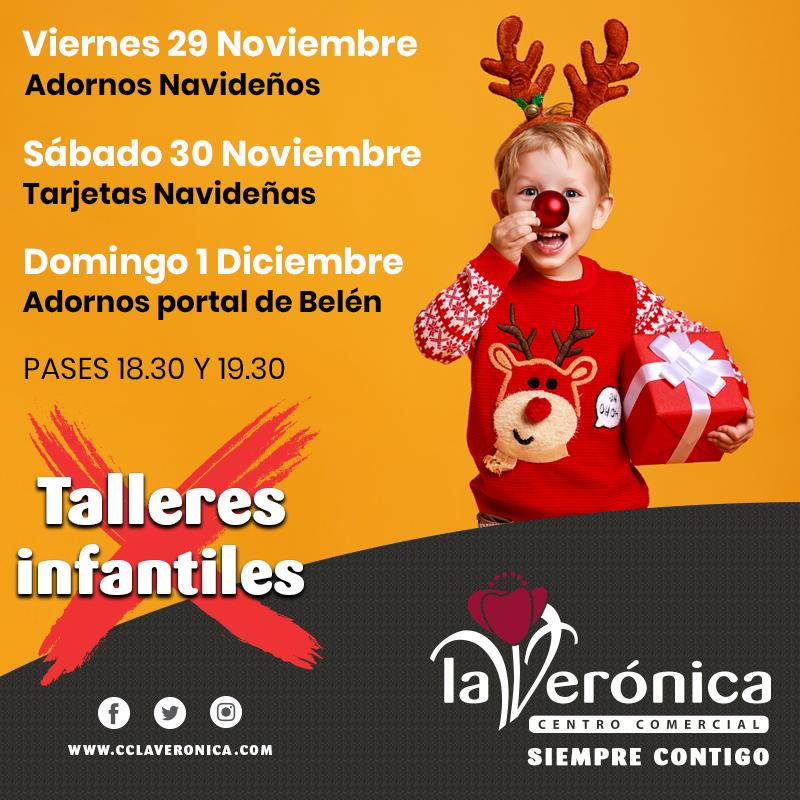 Talleres Infantiles Navidad, Centro Comercial La Verónica