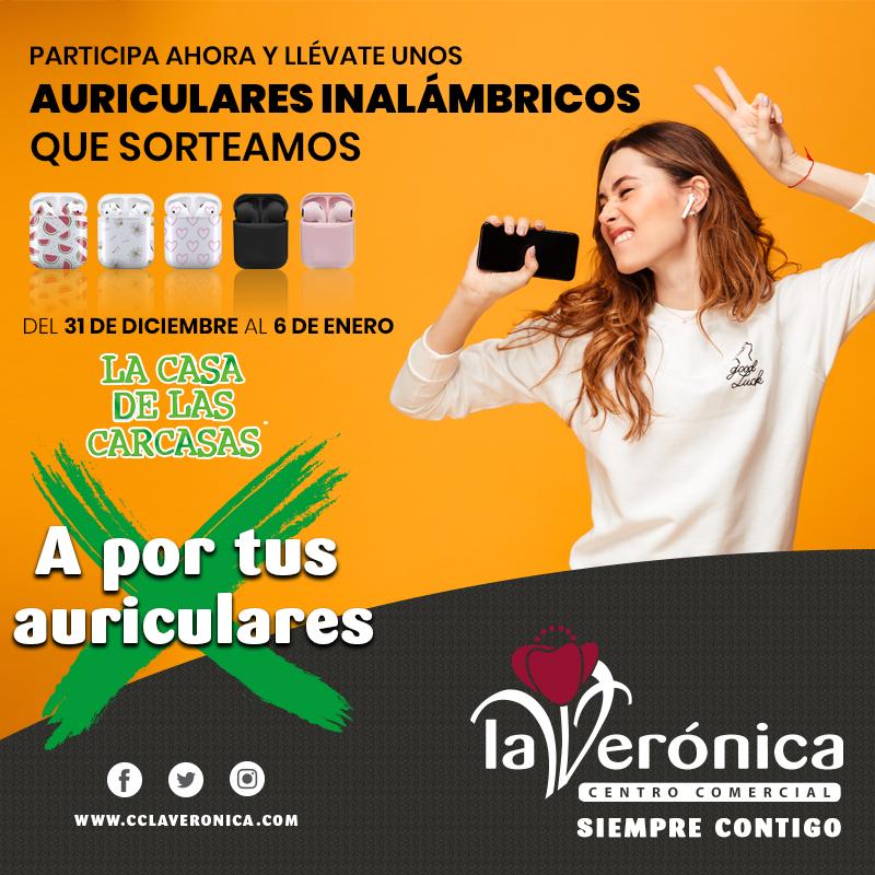 Sorteo La Casa de las Carcasas, Centro Comercial La Verónica