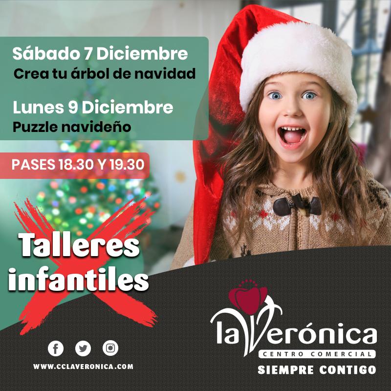 Talleres Infantiles Navideños, Centro Comercial La Verónica