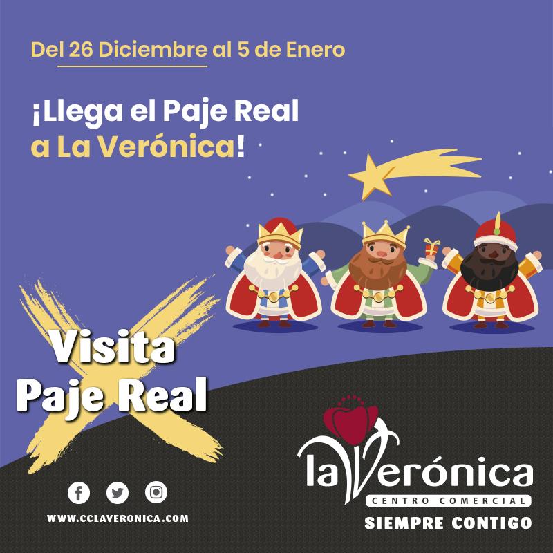 Visita Reyes Magos, Centro Comercial La Verónica