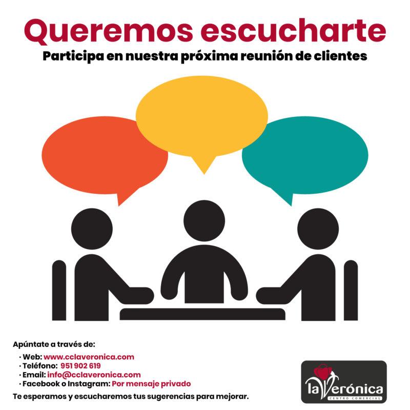 Mesa de clientes, Centro Comercial La Verónica