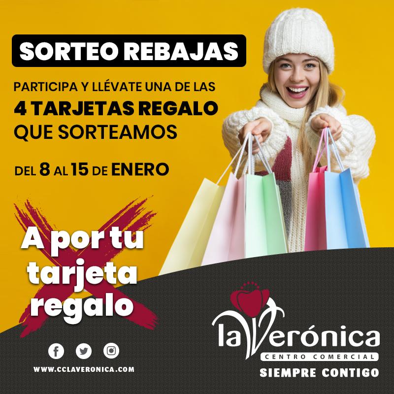Sorteo Rebajas, Centro Comercial La Verónica