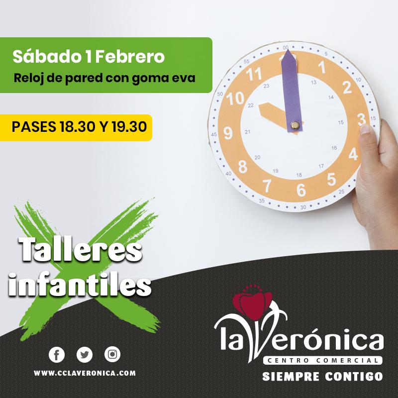 Talleres Infantiles 1 Febrero, Centro Comercial La Verónica