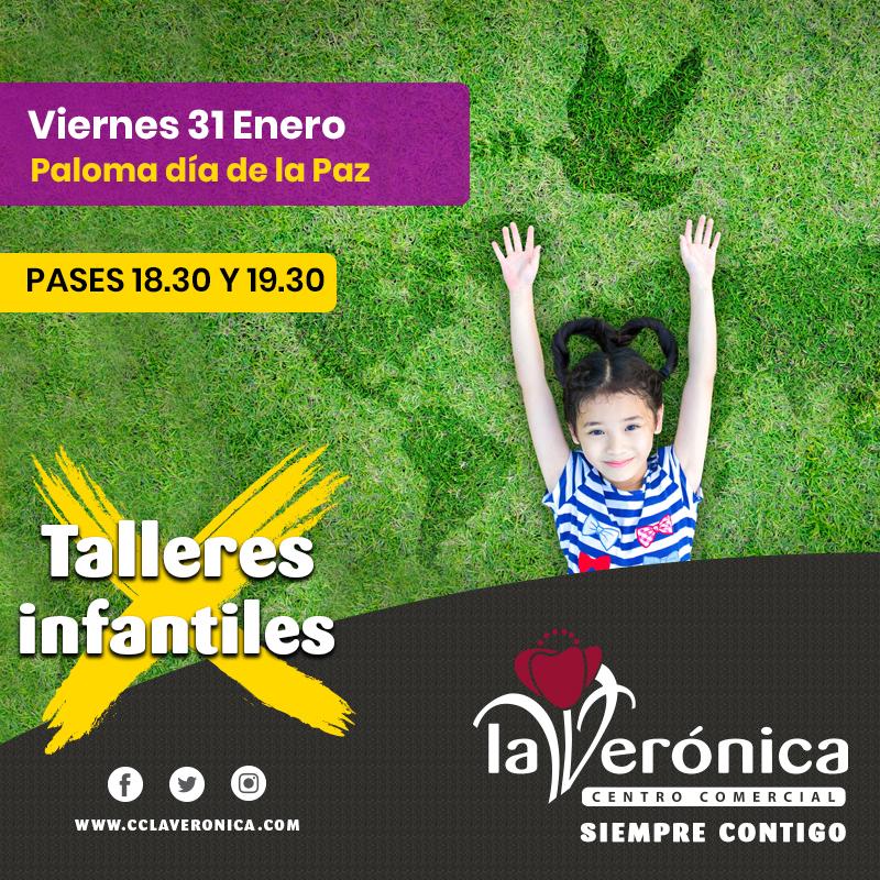Talleres Infantiles 31 Enero, Centro Comercial La Verónica Comercial La Verónica