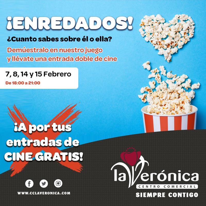 Enredados San Valentín, Centro Comercial La Verónica