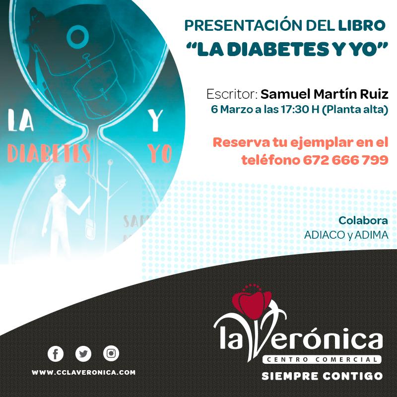 Presentación libro La diabetes y yo, Centro Comercial La Verónica