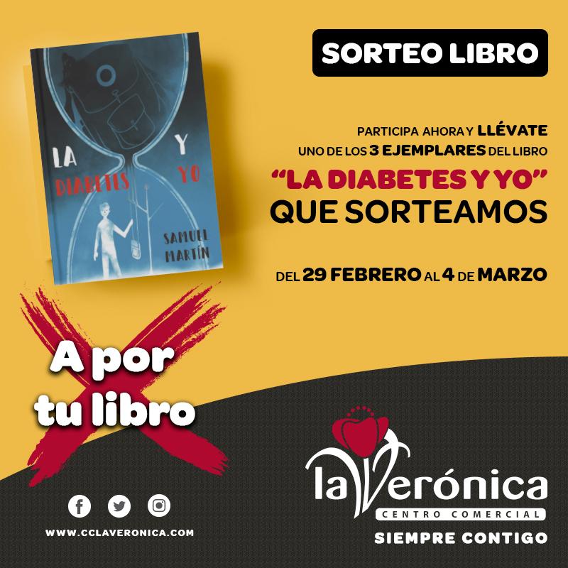 Sorteo libro La diabetes y yo, Centro Comercial La Verónica