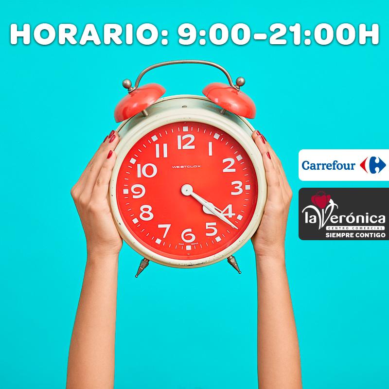 Horario Hipermercado Carrefour, Centro Comercial La Verónica