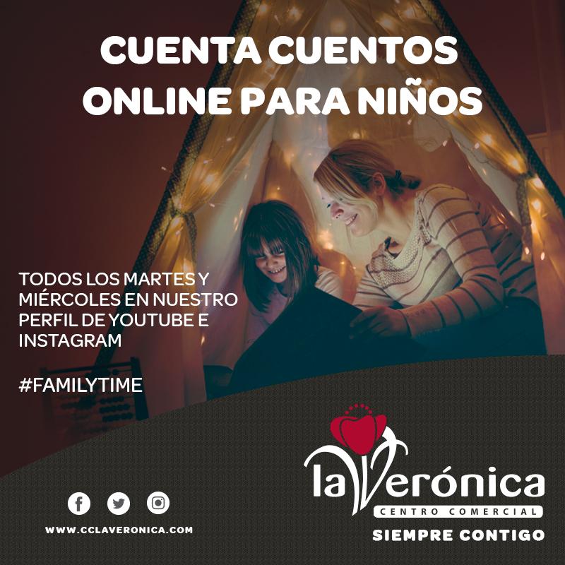 Cuenta Cuentos Centro Comercial La Verónica