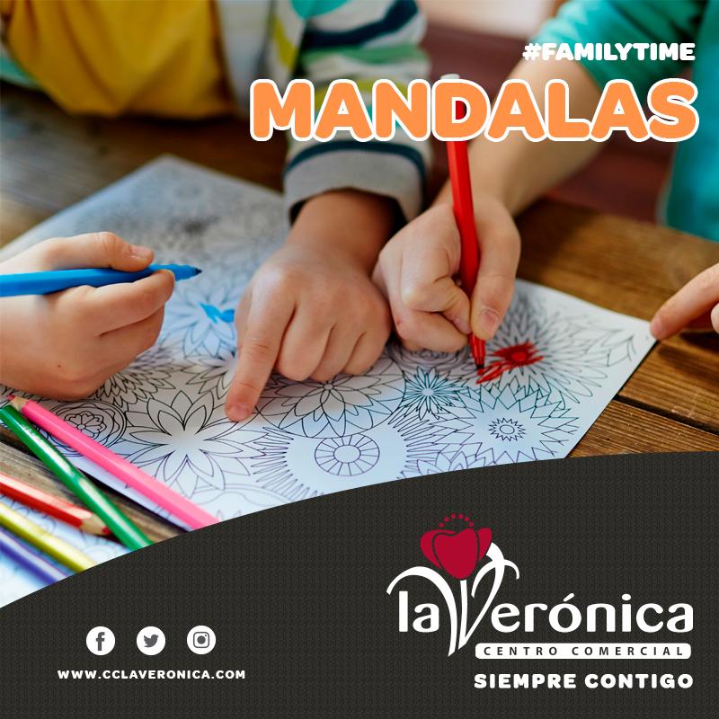 Pintamos Mandalas, Centro Comercial La Verónica