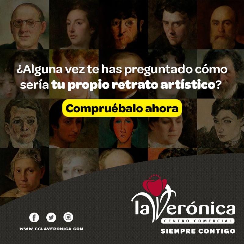 Tu retrato artístico, Centro Comercial La Verónica