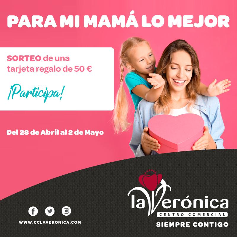Sorteo Día de la Madre, Centro Comercial La Verónica
