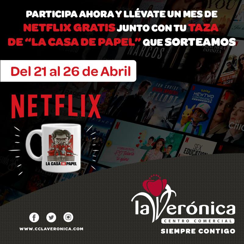 Sorteo Netflix, Centro Comercial La Verónica
