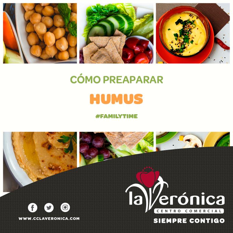 Como preparar humus, Centro Comercial La Verónica