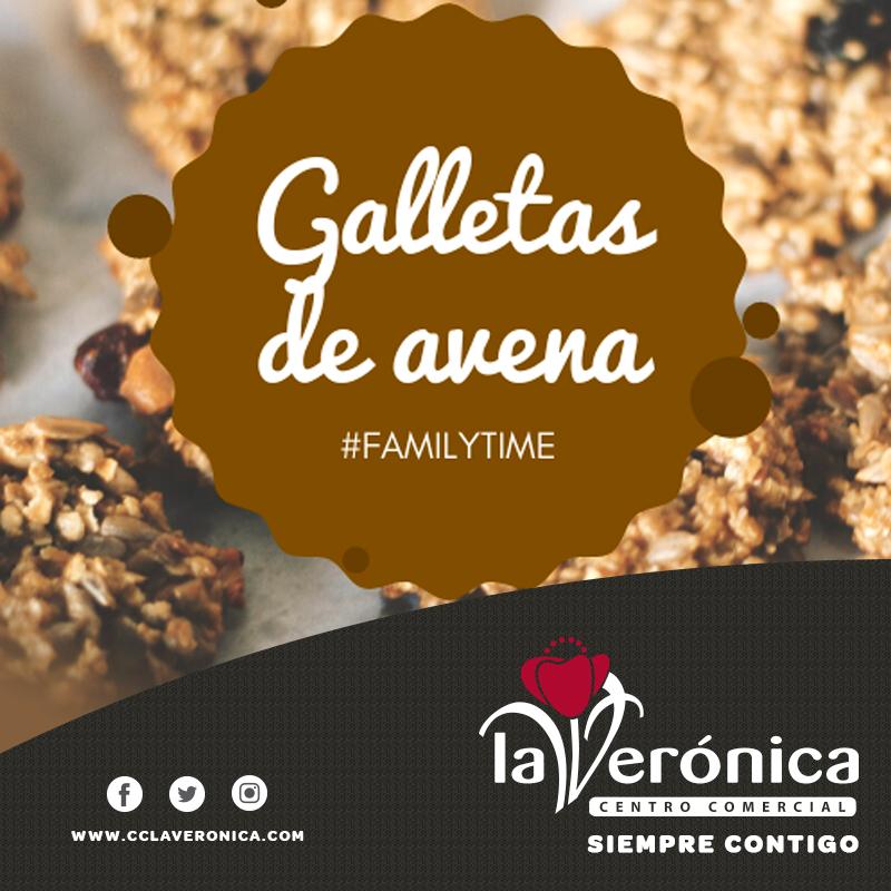 Galletas de avena, Centro Comercial La Verónica