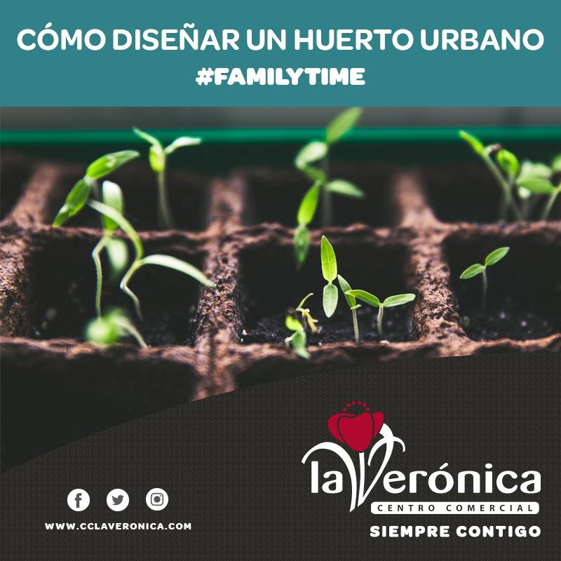 Como diseñar un huerto urbano, Centro Comercial La Verónica