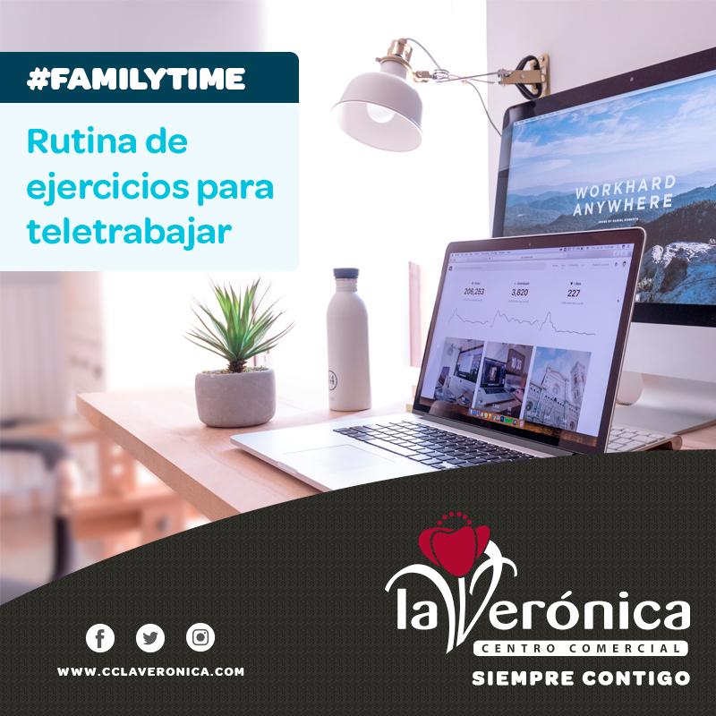 Consejos Teletrabajo, Centro Comercial La Verónica