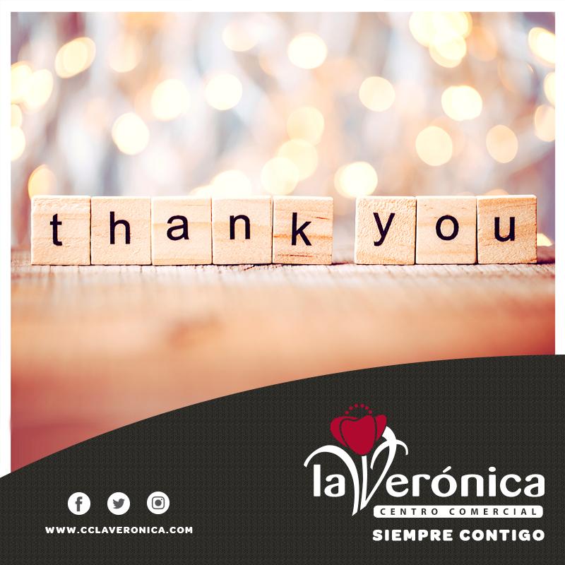 Agradecimiento Héreos, Centro Comercial La Verónica