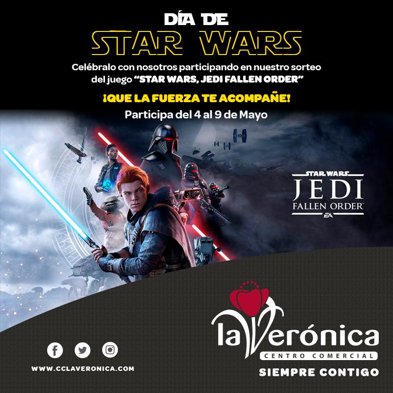 Sorteo Star Wars, Centro Comercial La Verónica