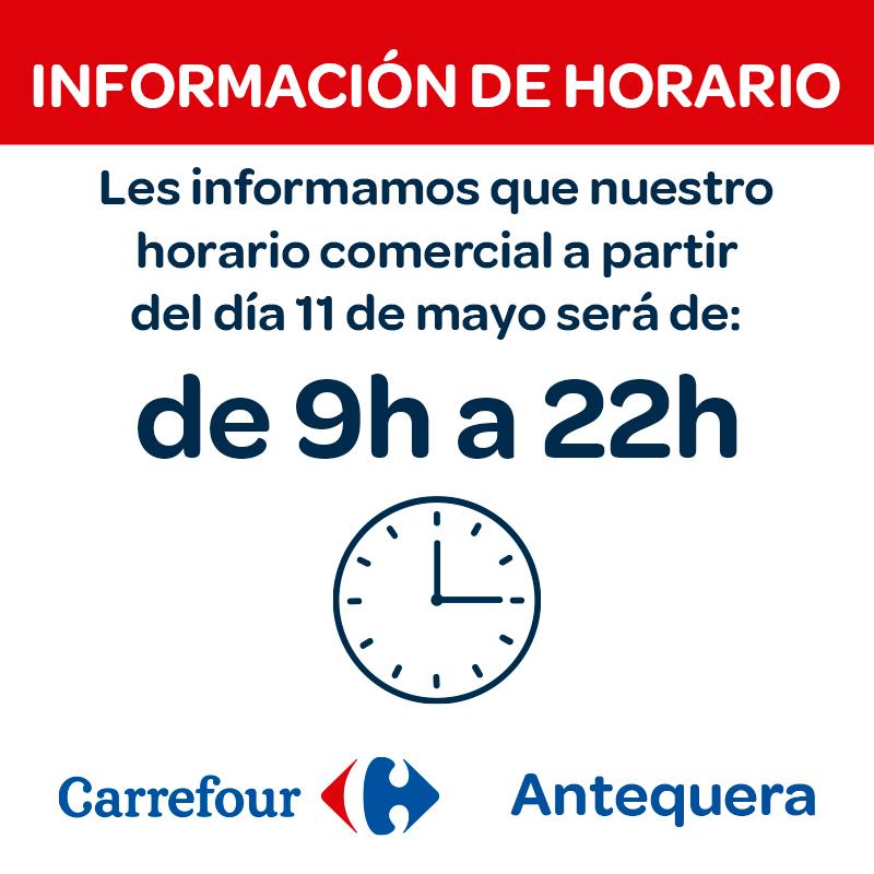 Información de horario, Centro Comercial La Verónica